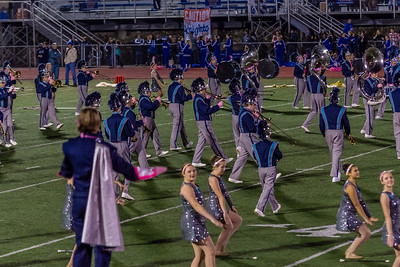 10-28-2016 Hempfield Band At The Norwin Game