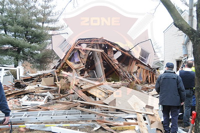 Hempstead F.D. House Explosion 176 Perry St. 2/27/13