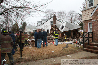 176 Perry St House Explosion 2/27/13