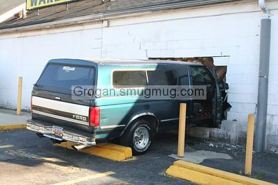 Car into building 11-12-11