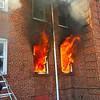 Hempstead apartment fire