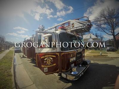 Mason St Working House Fire