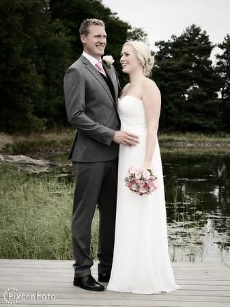 Helené och Eriks bröllop