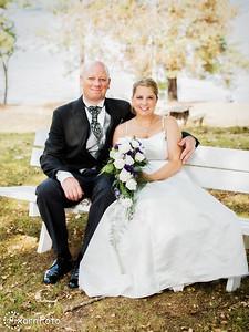 Bröllopsfoto Maria och Tobias