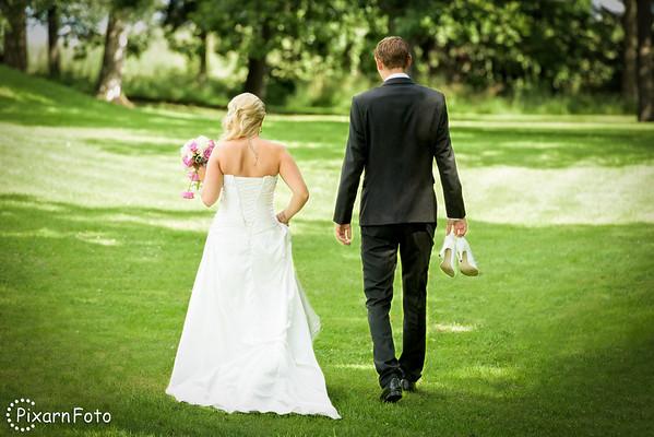 Thina och Christians bröllop