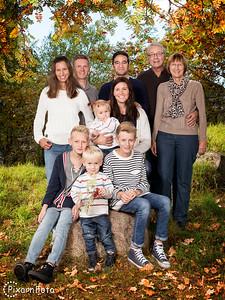 Familjefoto Azari, Spalle och Wahlstedt