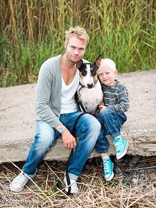 Familjefoto Ekholm Jonsson