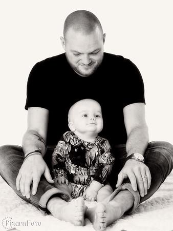 Familjefoto Nilsson