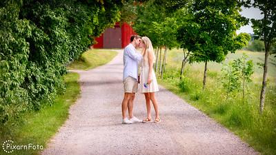 Parfoto Linda och Robin