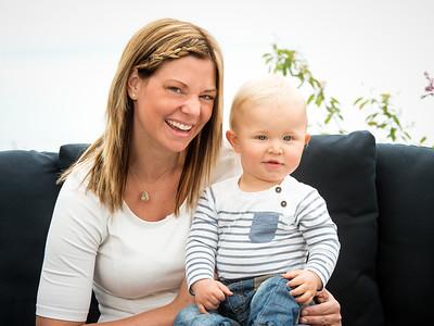 Familjefotografering Odin Johansson