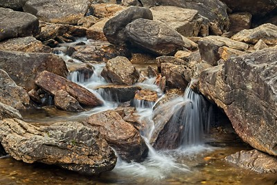 Below the falls at Graveyard Fields