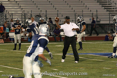Hendrickson Hawks vs. Marble Falls Mustangs, October 31, 2008