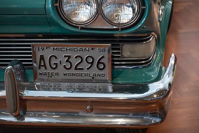 1958 Edsel Plate
