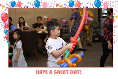 Henry & Hannah Birthday Party instant print photo booth   chụp hình lấy liền Tiệc Sinh Nhật   Photobooth Saigon