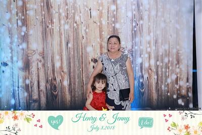 Henry & Jenny Wedding Photo Booth - Chụp hình in ảnh lấy liền Tiệc Cưới tại Sài Gòn