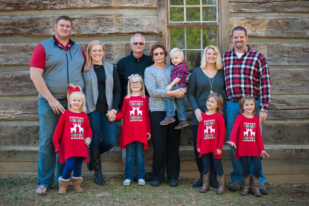 Hensley Family: Christmas Tree Farm 2016