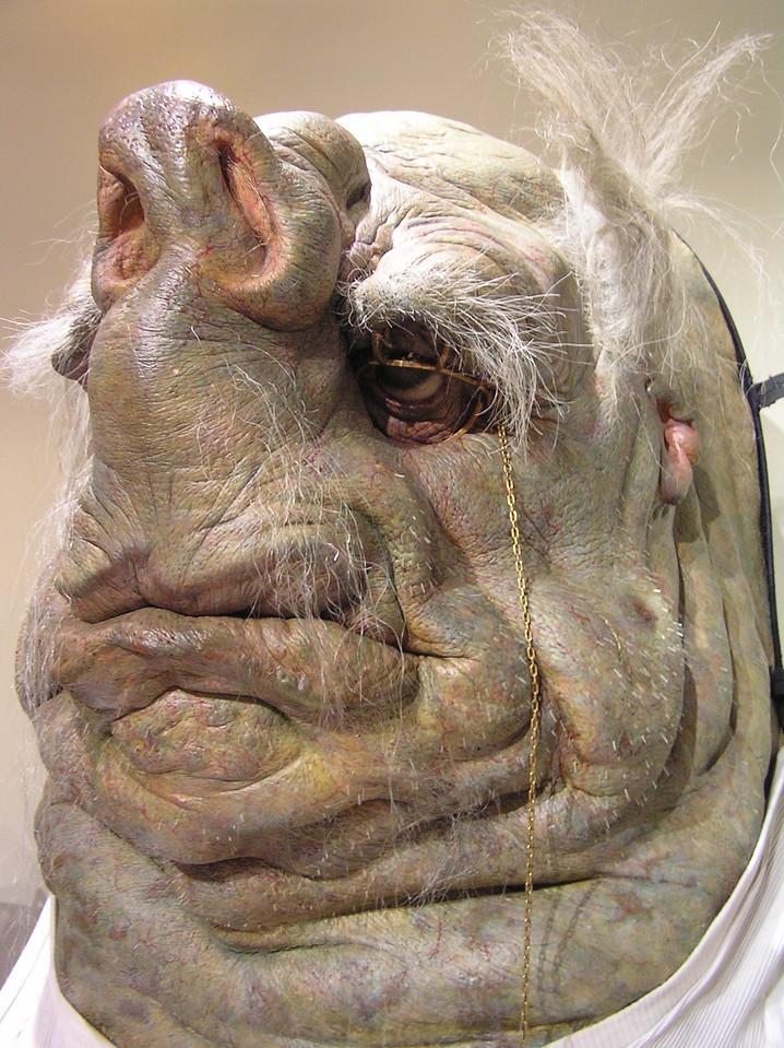 Close-up of Prostetnic Vogon Jeltz