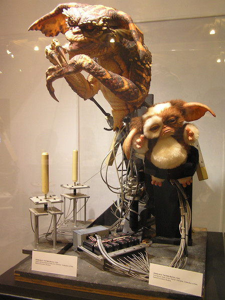 Gizmo and a Gremlin, with controls, from <i>Gremlins 2: The New Batch</i> (1990)