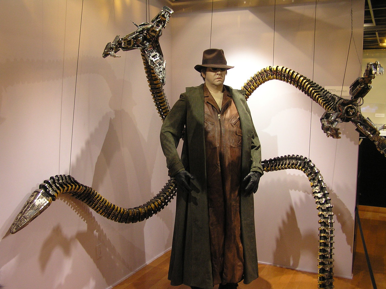 The arms of Doctor Octopus, from <i>Spider-Man 2</i> (2004)