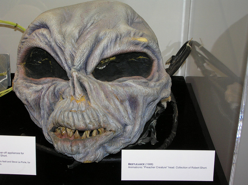 Head of the preacher creature from <i>Beetlejuice</i>