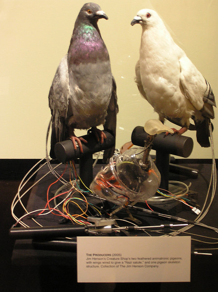 Pigeons from 2005's <i>The Producers</i>