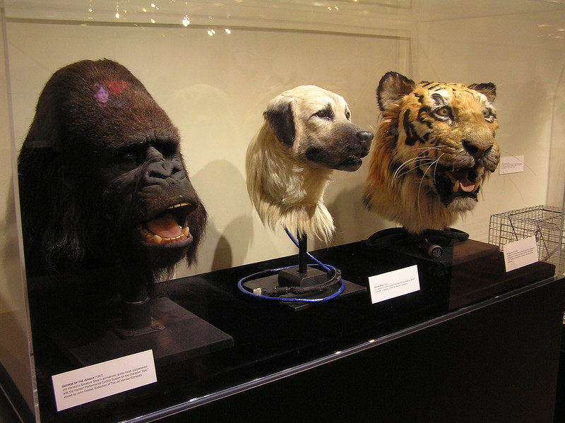 Animals from <i>Mighty Joe Young</i>, <i>Cats & Dogs</i>, and <i>Dr. Dolittle</i>