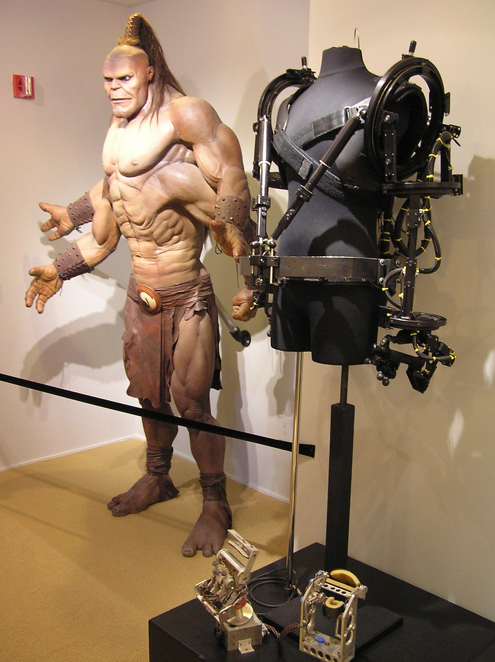 Robotics for Goro, from <i>Mortal Kombat</i> (1995)