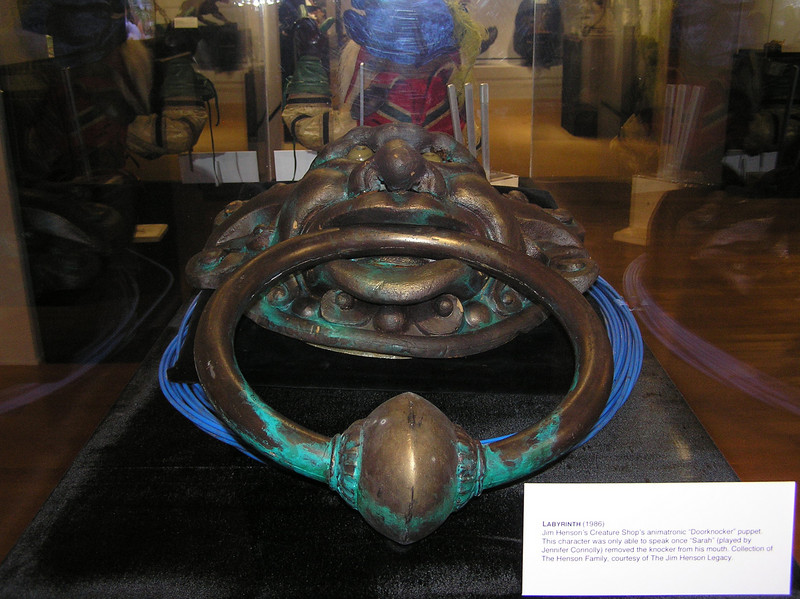 Door knocker from <i>Labyrinth</i>