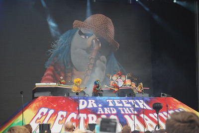 Electric Mayhem at Outside Lands 2016