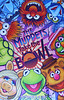 The Muppets Take the Bowl poster<br /> Signed by Matt Vogel and Bobby Moynihan