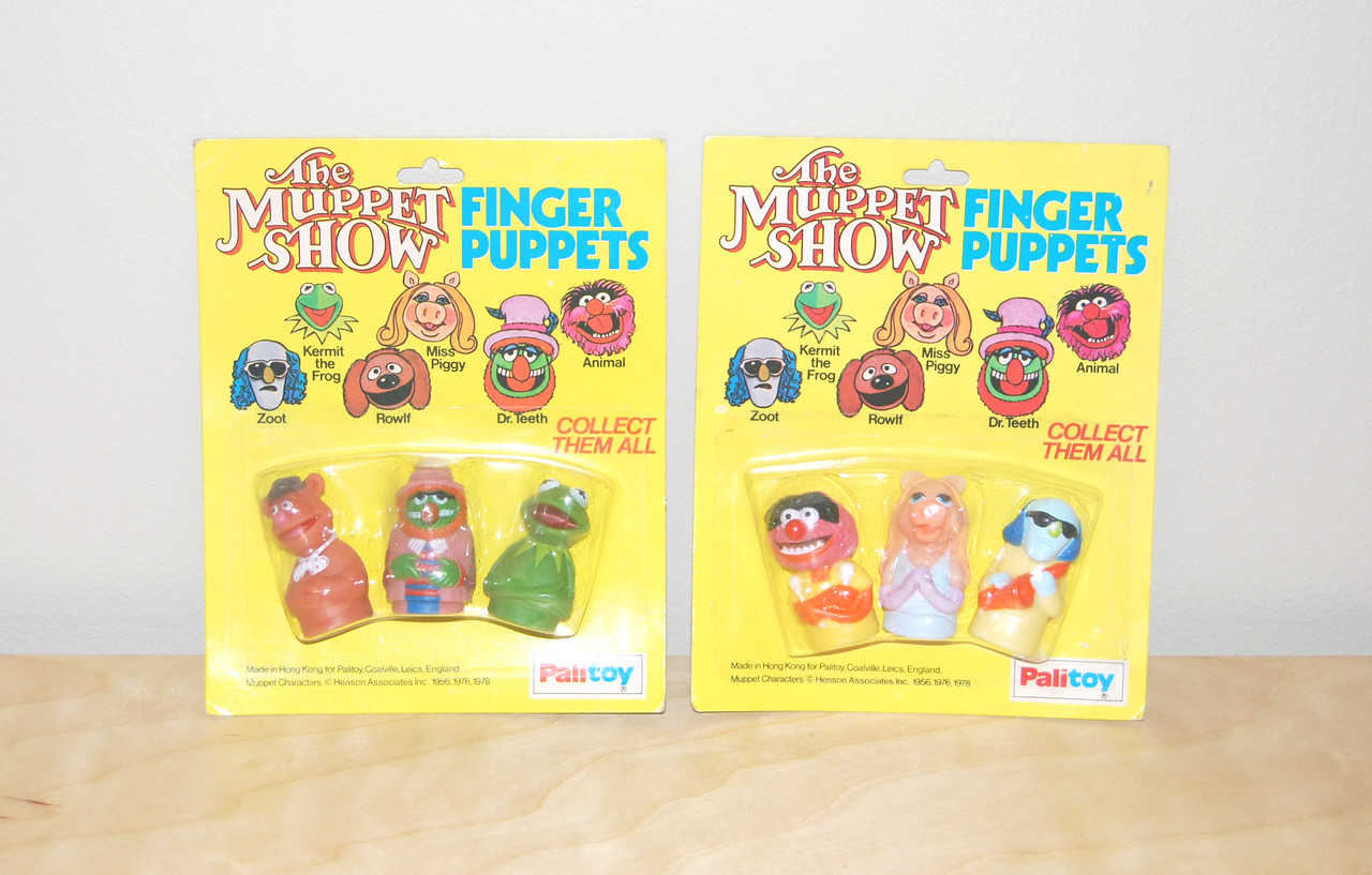 Finger puppets from Palitoy, 1978