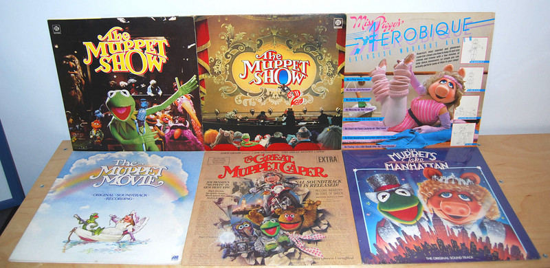 Muppet LPs
