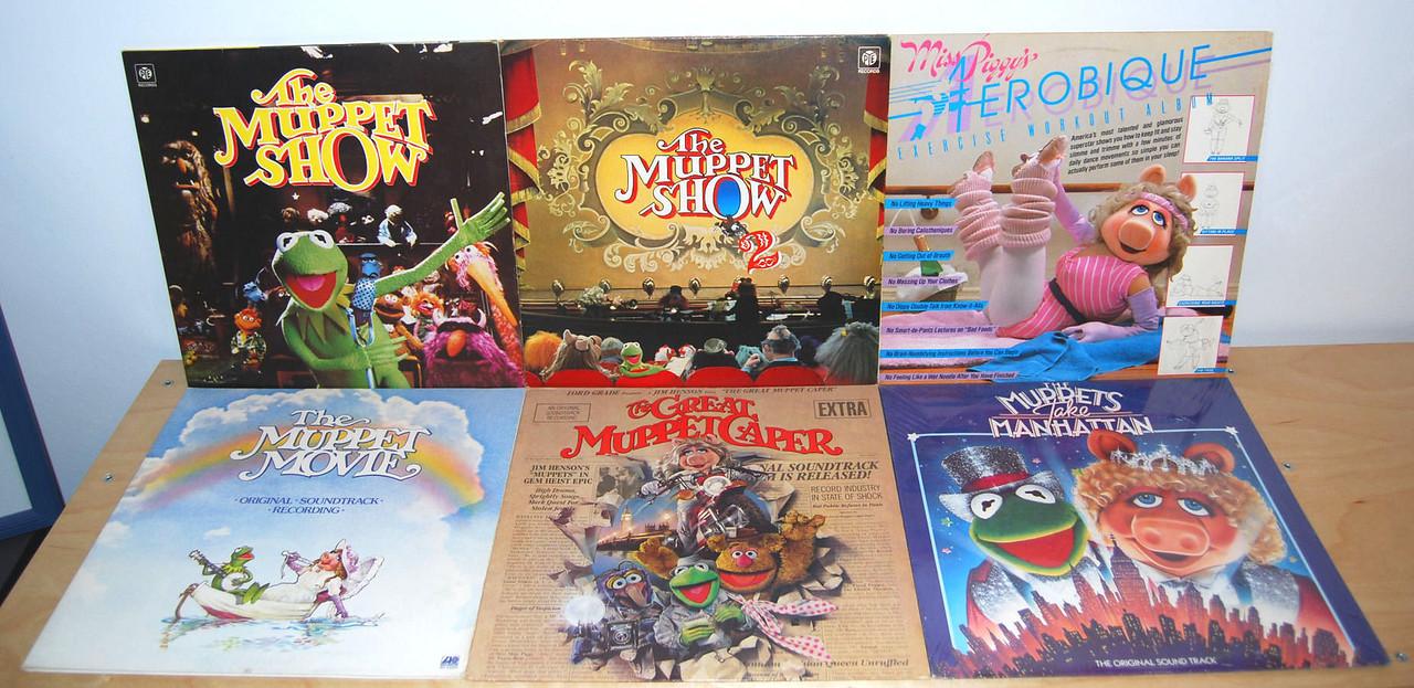 Muppet LPs