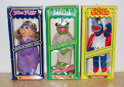 Fisher-Price dress-up dolls 1981-1982