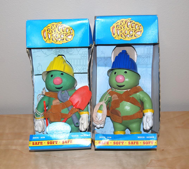 Doozer bendy figures (Bendy Toys, 1984)