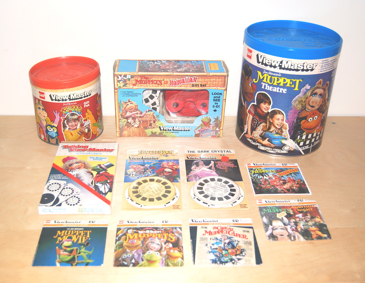 View-Master gift packs and reels