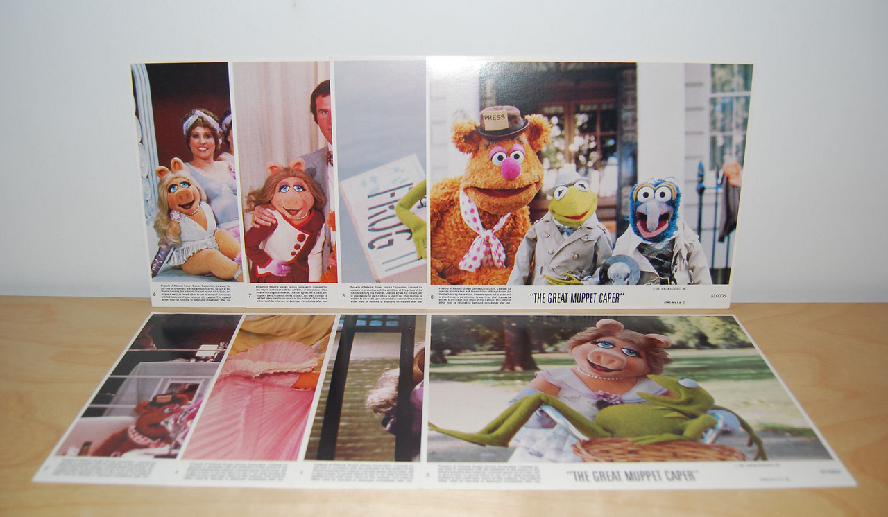 The Great Muppet Caper lobby cards