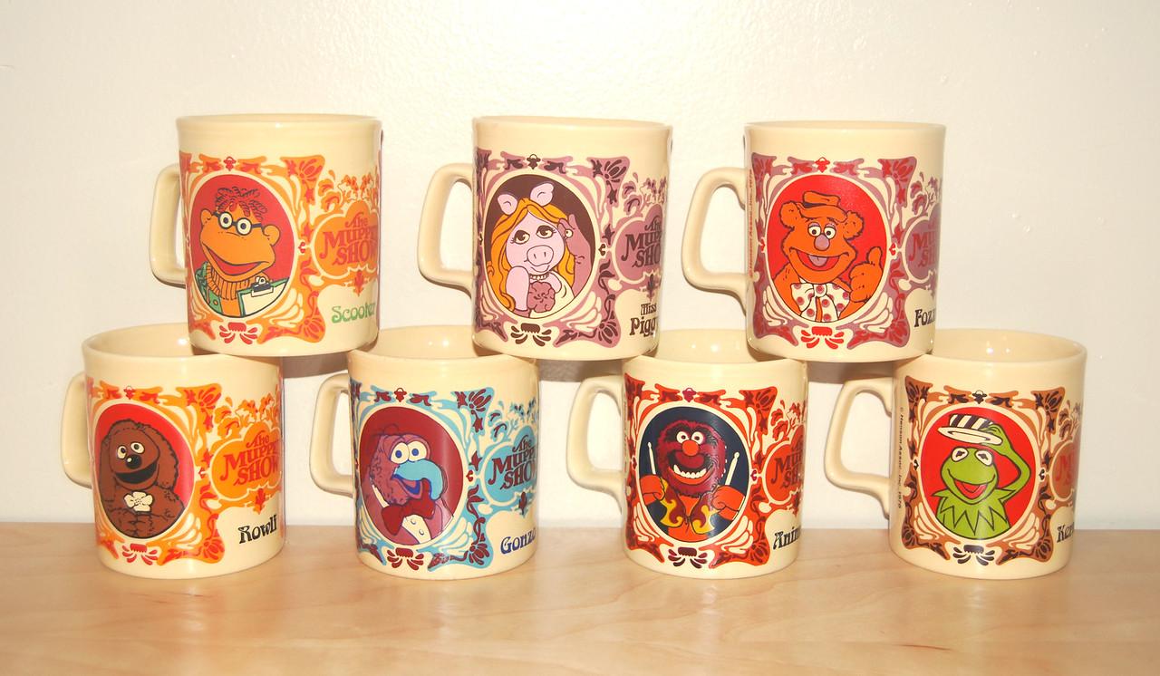 Mugs from KilnCraft 1978  (still missing a few rare ones)