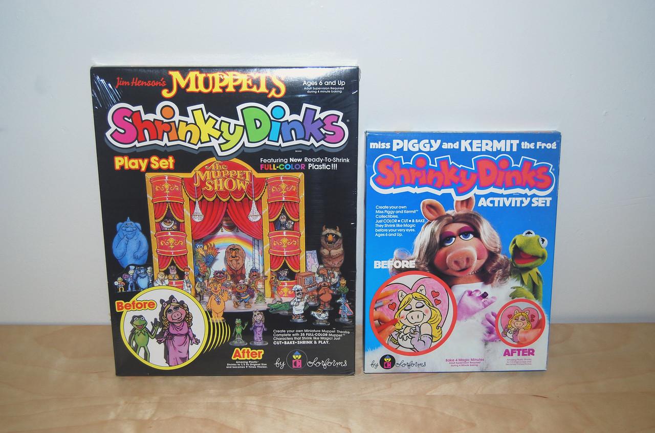 Muppets Shrinky Dinks 1981