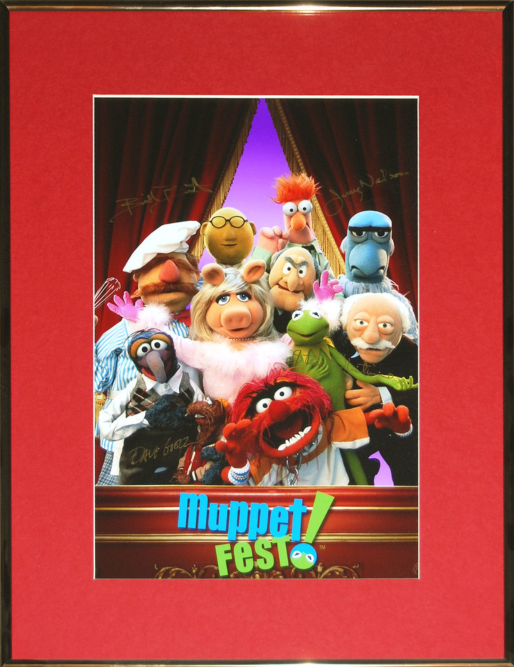 MuppetFest signed lithograph 2001