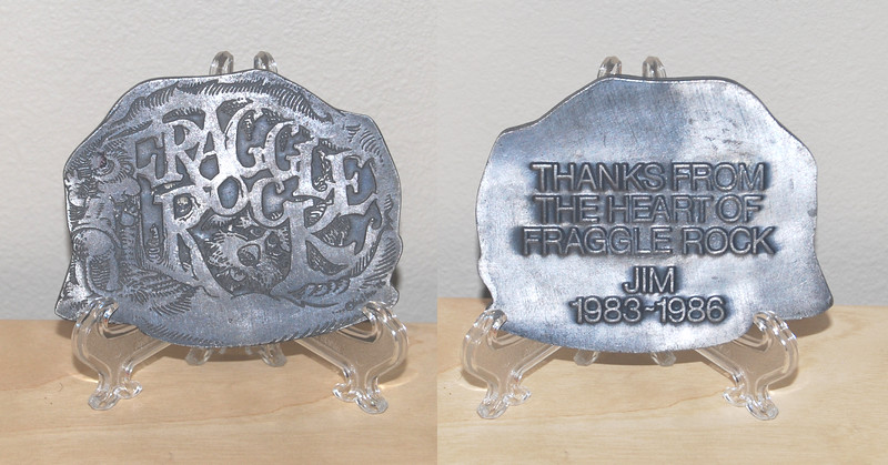 Gift to Fraggle Rock cast and crew