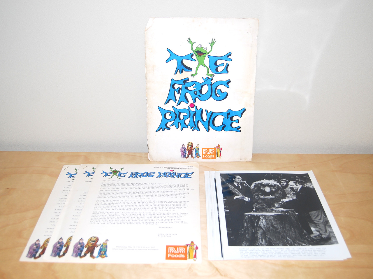 The Frog Prince press kit, 1971