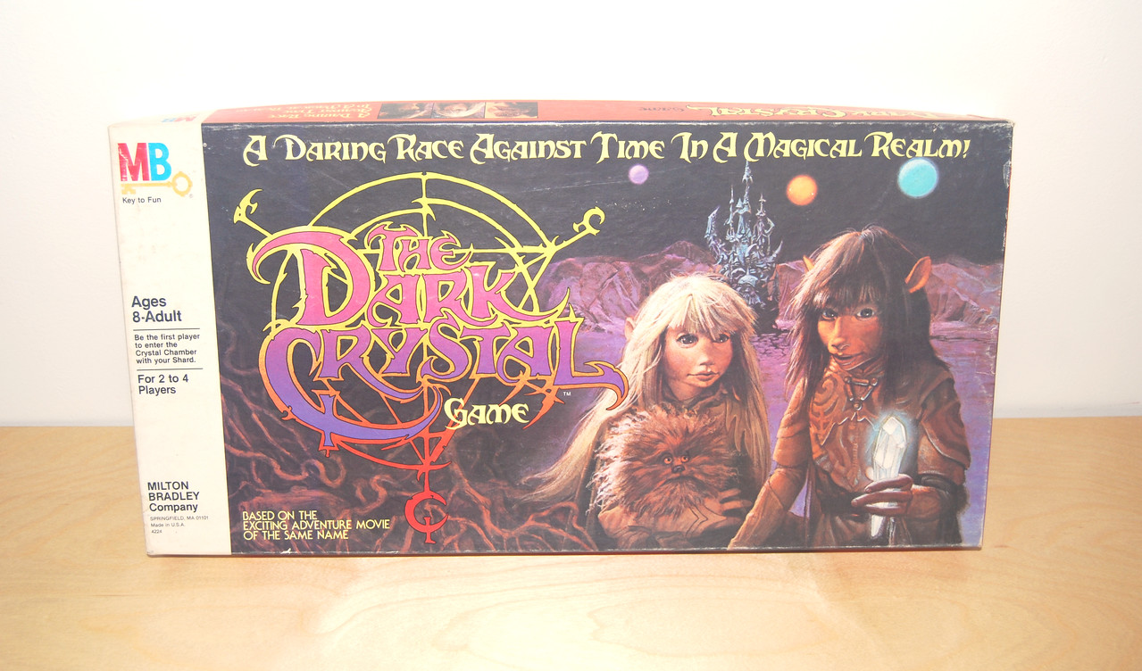 The Dark Crystal board game Milton Bradley 1982