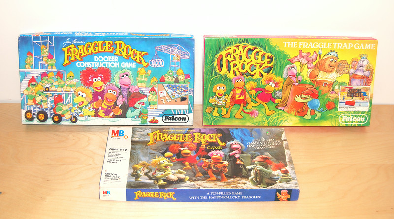 Doozer Construction Game Falcon Games (UK), 1984  The Fraggle Trap Game Falcon Games (UK), 1983  The Fraggle Rock Game Milton Bradley, 1984
