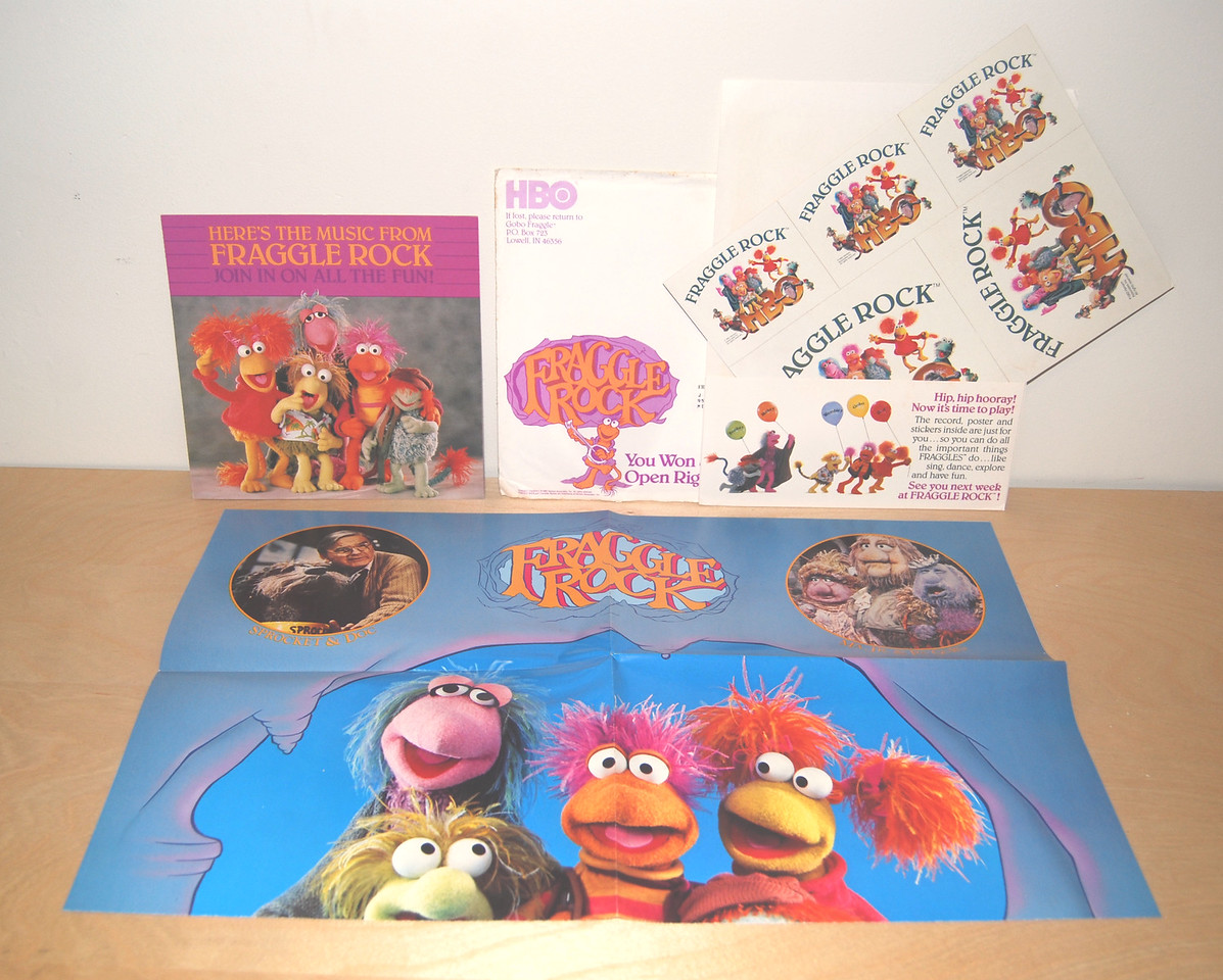 Fraggle Fun Pack from HBO 1983
