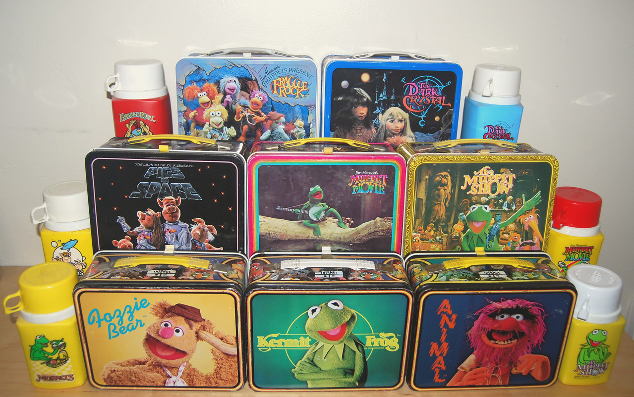 Metal lunchboxes