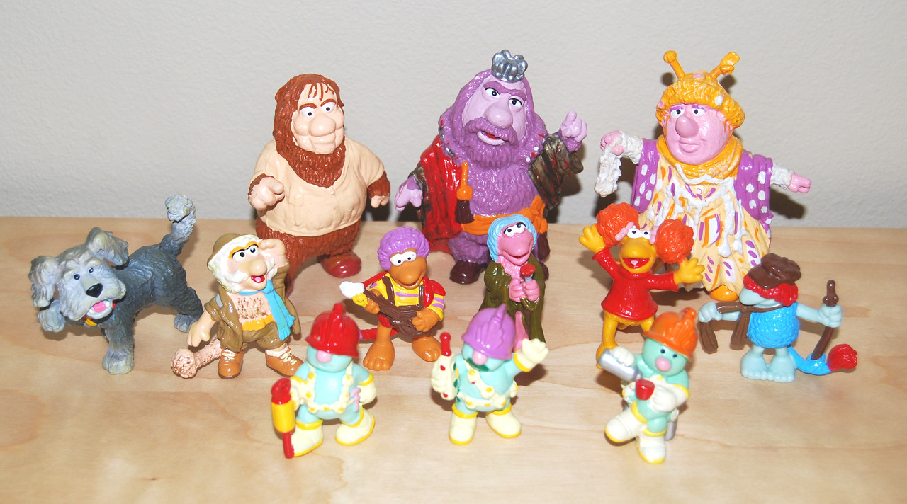 Fraggle Rock PVC figures (Schleich, 1983)