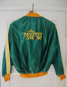 """Scooter"" Muppet Show jacket Gift to cast and crew, 1981"