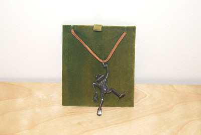 Kermit pendant given to cast, crew, and guest stars of the Muppet Show