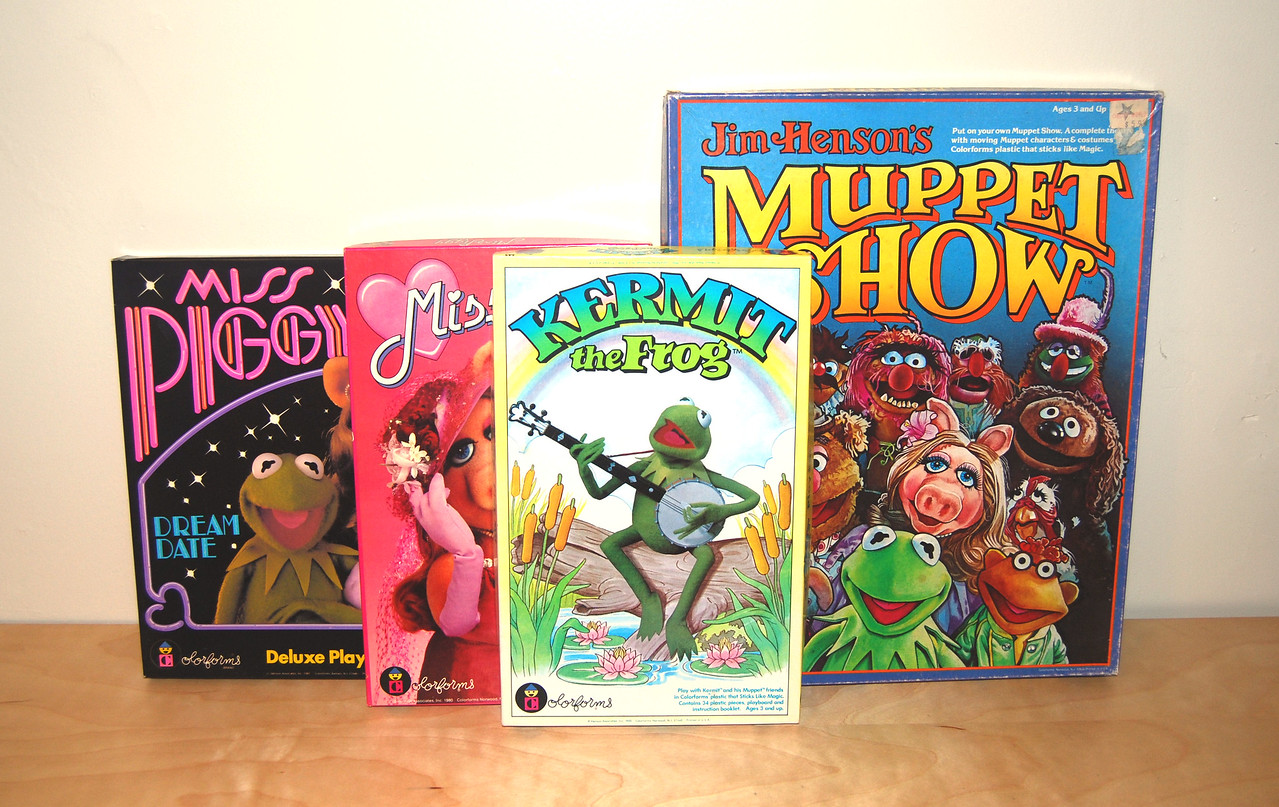 Muppets Colorforms 1980, 1981